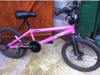 Boys girls bmx bike