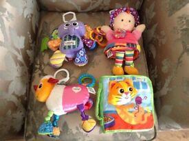 Lamaze toy bundle x4 items.