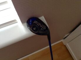 Ping g 30 3 wood and 3 rescue