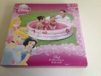 "Child's Disney Princess Inflatable Paddling Pool 48"" x 10"""