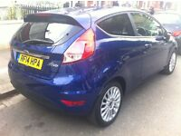 2014 Ford Fiesta Titanium, 1.5d, low mileage.