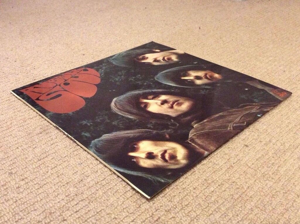 Beatles Rubber Soul UK 1st Press Vinyl LP in Stunning Condition