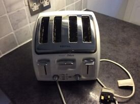 Toaster white deluxe tefal