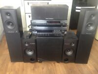 YAMAHA, KEF & WHARFEDALE surround sound system in KINLOCHBERVIE