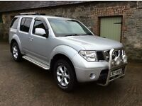 Nissan Pathfinder 2.5 DCI **Only 35,000 miles** 7 Seats** One NI Owner from new** Mint**
