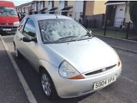 2004 Ford KA 1.3,full year mot with full leather interior ideal first car