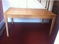 John Lewis Oak Extendable Dining Table/ Can Deliver