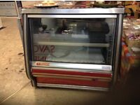 Fridge display,glass fronted,can subvice as counter,£350.00