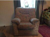 Free reclining arm chair nr Pathhead