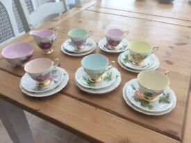 Royal Standard Harry Wheatcroft Roses china, cups, saucers side plates etc