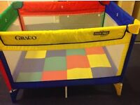 Graco travel cot - compact