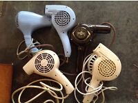 1950's antique hairdryers