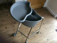 Zimmer frame with storage compartment