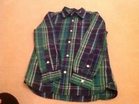 Boys Tommy Hilfiger shirt. Size medium/ 8 to 10.