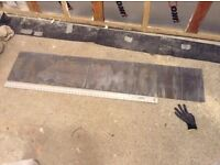 Lead Flashing Code 4 Width 300mm, Length ~1.5m (unused remaining from 3m roll)