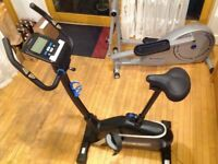 Roger black excercise bike immaculate as new