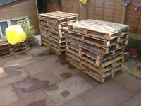 23 Wooden pallets