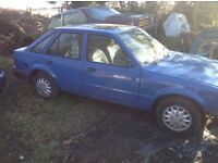 Classic Ford escort 1.3 72k easy project