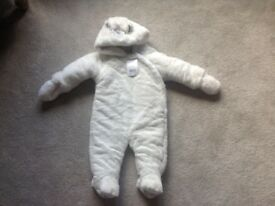 Brand new with tags unisex fluffy snowsuit