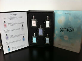 Grace Philosophy 'State of Grace' set of 5 perfume in gift box NEW