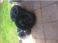 Set of 4 alloys Toyota Celica