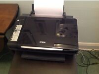 Epson Stylus SX200 scanner and colour ink jet printer.