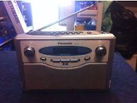 PANASONIC RF-D1 DAB FM BATTERY MAINS RADIO (inc Power Unit).
