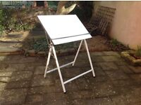 Free standing Trueline drawing board fully adjustable with parallel motion