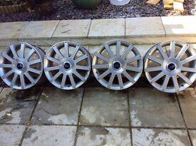 "17"" Ford Fiesta ST wheels"