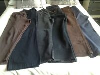 Ladies trousers and jeans