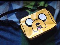Adventure Time 'Jake the dog' yellow shoulder bag