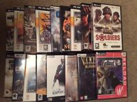 Collection of 17 PC games