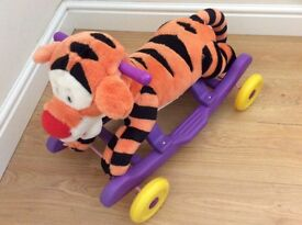 Tigger ride on/ rocker