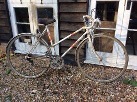Vintage racing bike ladies