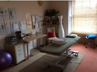 Beautiful, spacious therapy room available in West End clinic