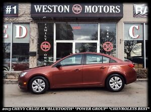 2013 Chevrolet Cruze LS *BLUETOOTH *POWER GROUP *CHEVROLET'S BES