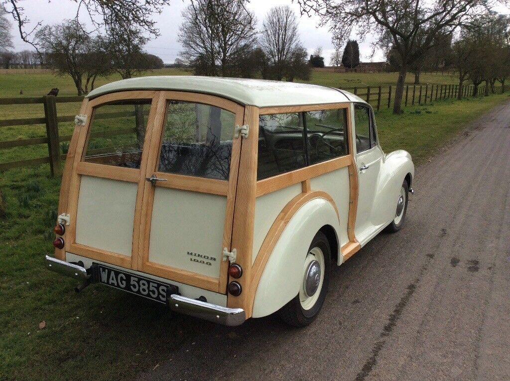 morris minor traveller new restoration in cottingham. Black Bedroom Furniture Sets. Home Design Ideas