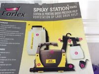 Earlex Spray Station for exterior timber & interior walls & ceilings