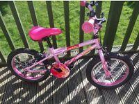 Girls 16 inch Apollo Roxie bike