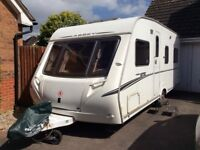 Abbey GTS 418 2007 Fixed Bed 4 Berth with Motor Mover