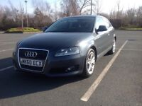 AUDI A3 2.0 TDI SPORT HATCHBACK 140 BHP 1 OWNER CAR MOTORWAY MILEAGE CAMBELT CHANGED @145K FASH ✅✅✅