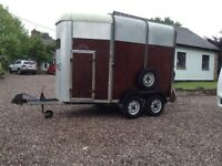 Ivor Williams Double Horse Trailer