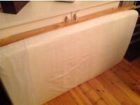 Cot/toddler mattress antiallergy