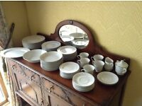 Noritake dinner service - delicate flowery pattern and complementary simple line design - must go!