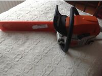 STIHL Chain Saw....virtually as new cost over £400 new