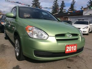 2010 Hyundai Accent All Power Opts Aux Input $$GAS SAVER$$ MINT
