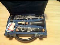 Buffet B12 Clarinet in hard case + reeds + beginners books
