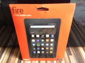 AMAZON FIRE TABLET BRAND NEW UNOPENED UNWANTED PRIZE. PERFECT XMAS GIFT (please read description)