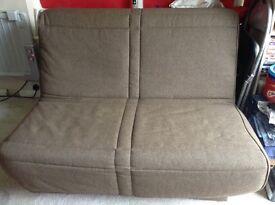 4ft metal frame sofabed
