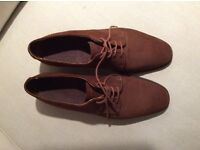 Beautiful brushed suede shoes